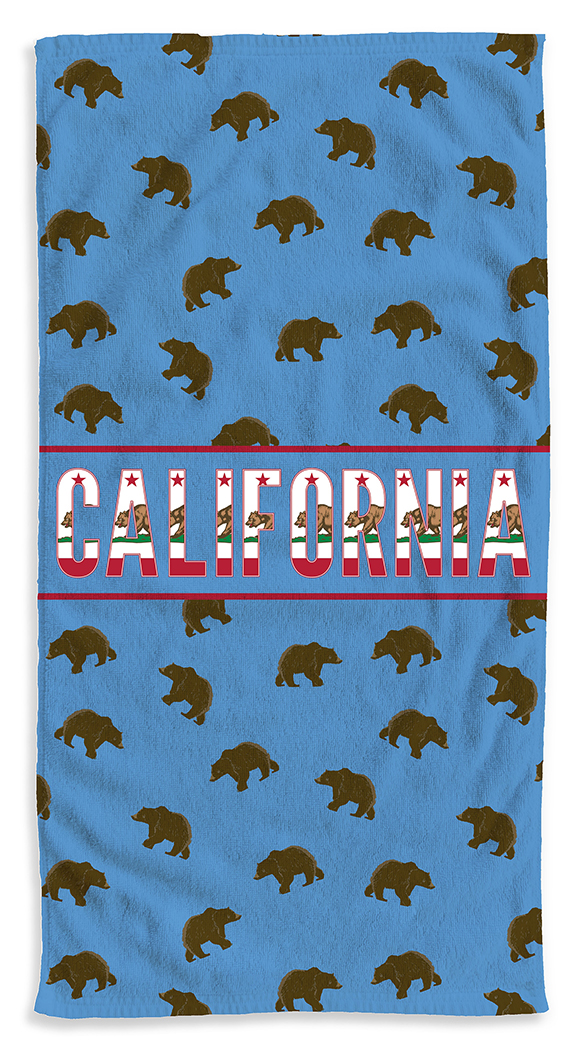 Beary-Cali-Blue